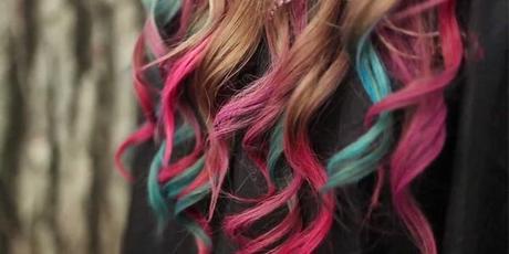 beaute un effet arc en ciel dans les cheveux le hair chalking paperblog