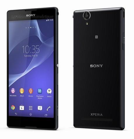 Sony Xperia T2 Ultra, large écran, compatibilité 4G pour ...