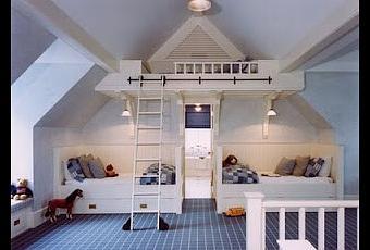 chambre d enfant sous les combles