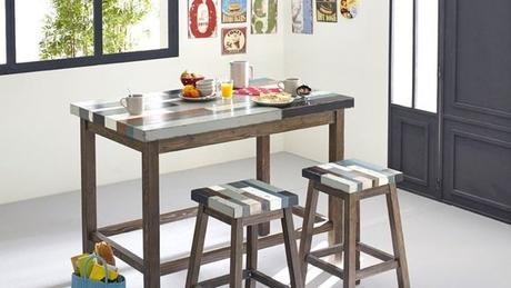 table haute de cuisine table cuisine