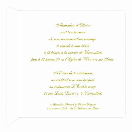 texte invitation inauguration paperblog