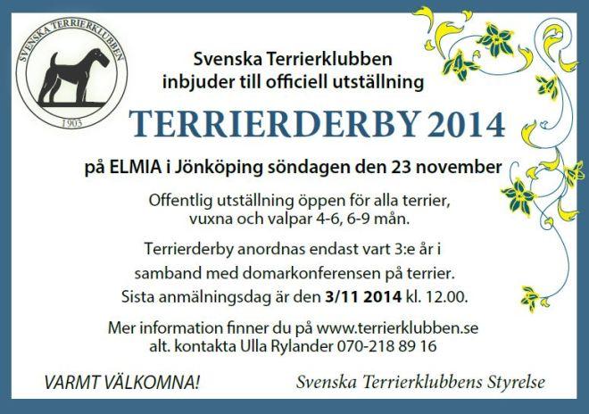 Terrierderby-2014 förlängt 3 nov