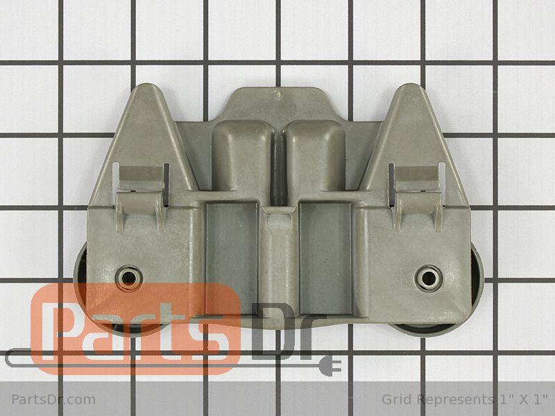 lower dishrack wheel