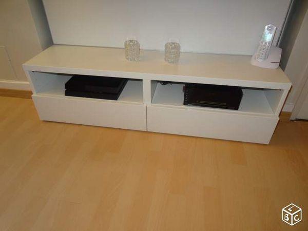 Banc Tv Ikea Besta Largeur De 120x33x43 Cm