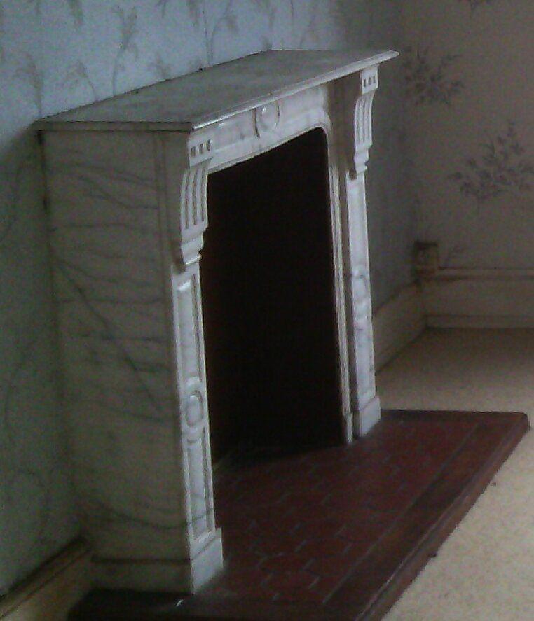 cheminee en marbre blanc a 500