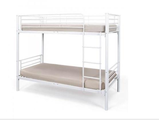 lits superposes metal blanc a 60