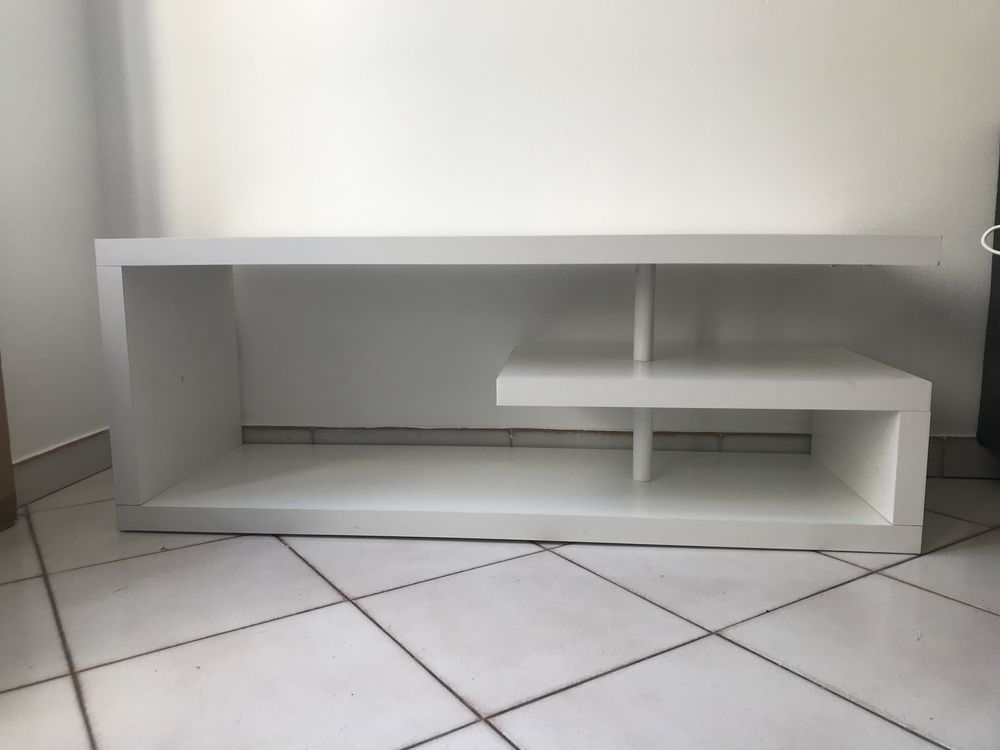 meuble tv blanc fly a 40