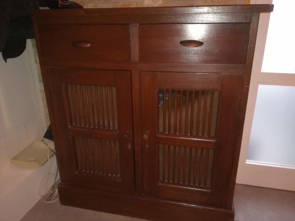 meuble bois exotique a 40