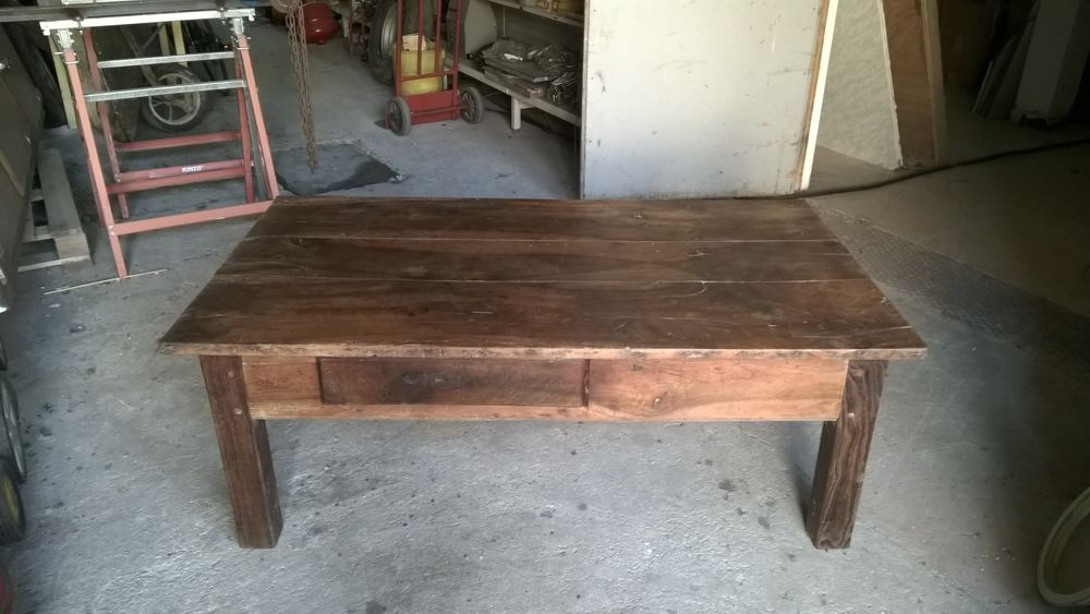 table basse ancienne a 200