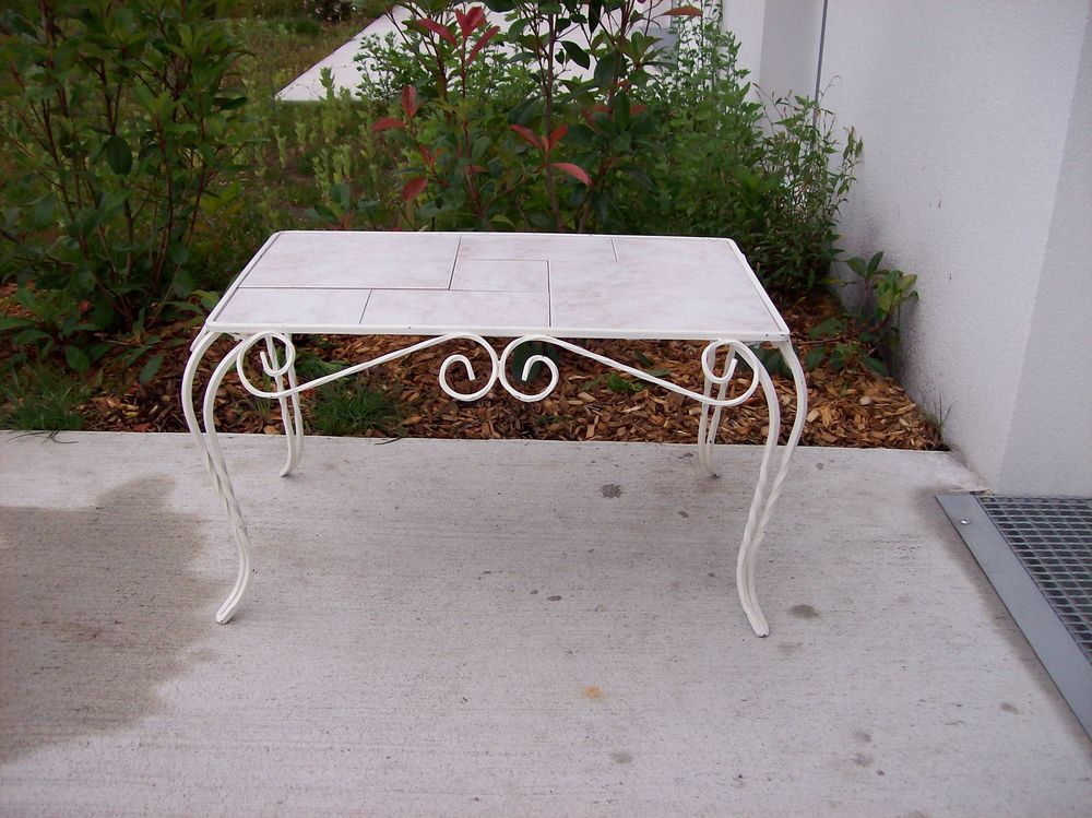table basse fer forge a 60