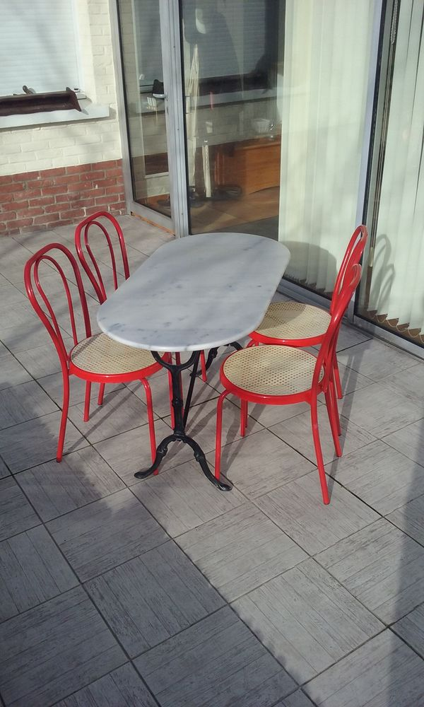 table et chaises bistrot a 115