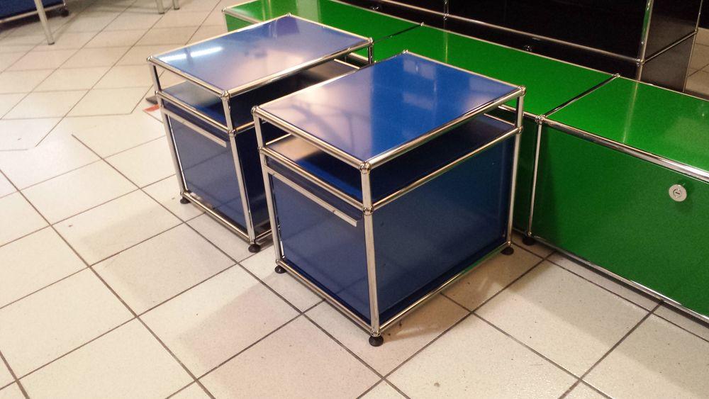 table de chevet usm haller bleue gentiane 1 tiroir a 450