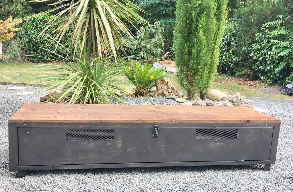 vestiaire metallique industriel meuble tv a 430