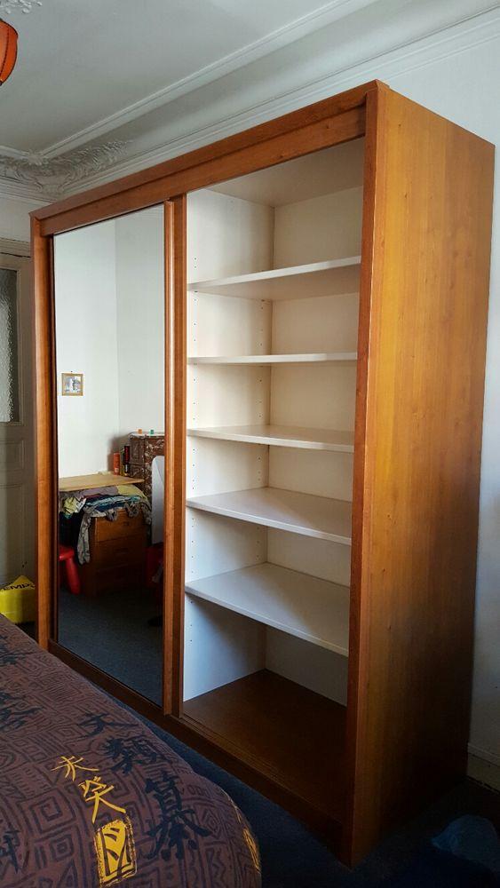 armoire celio merisier massif meubles