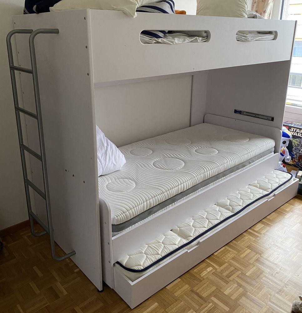 lit mezzanine 3 places parfait pour chambre d enfants a 500