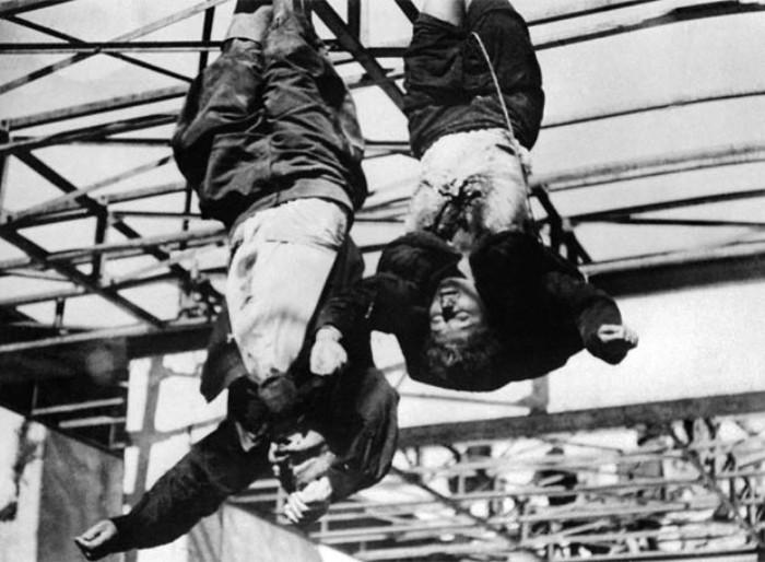 Φωτογραφίες από το μυστικό καταφύγιο του Μπενίτο Μουσολίνι