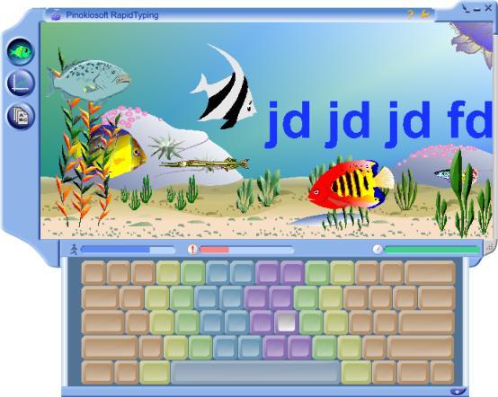 RapidTyping - Typing Tutor Main Window - PinokioSoft ...