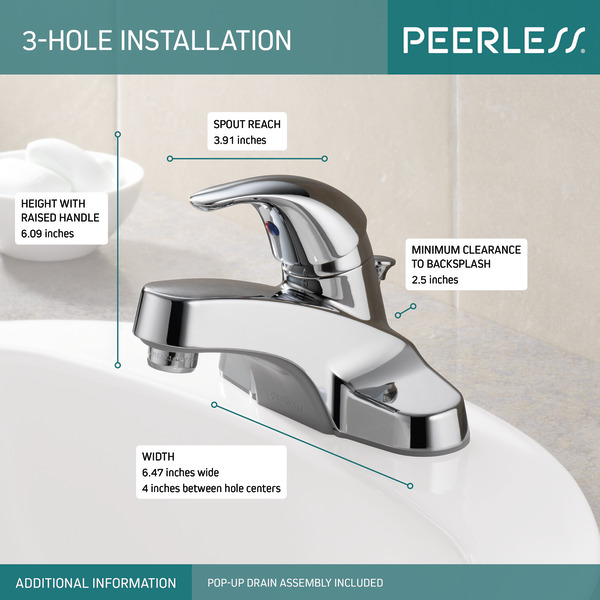p136lf single handle bathroom faucet