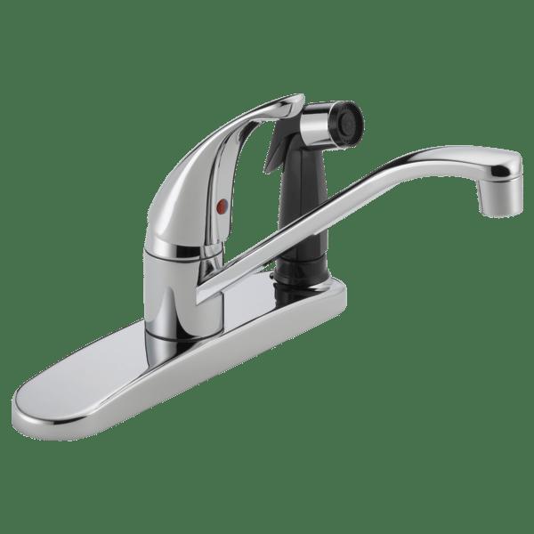 p114lf single handle kitchen faucet