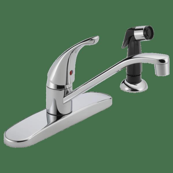 p115lf single handle kitchen faucet