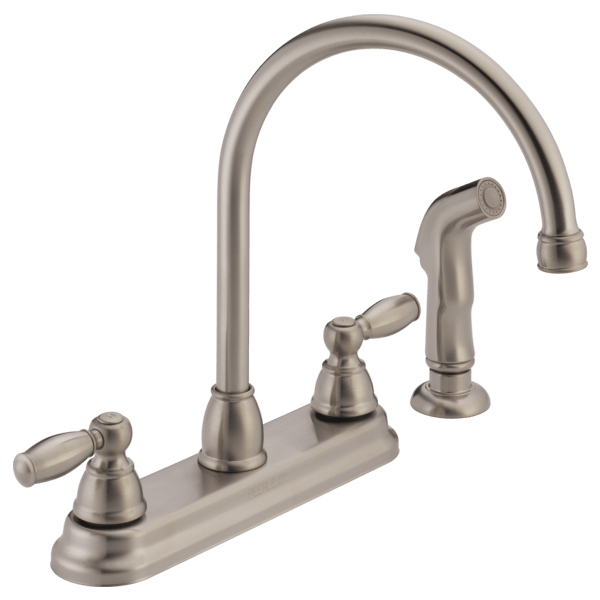 p299575lf ss two handle kitchen faucet