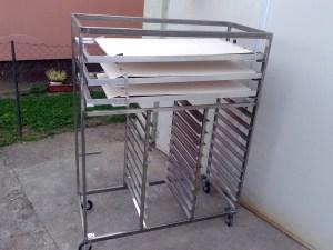 kombinovana kolica za potezne aparate i peciva