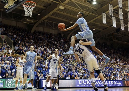 Image result for north carolina beats duke