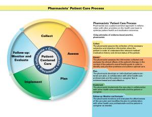 Pharmacists' Patient Care Process | American Pharmacists