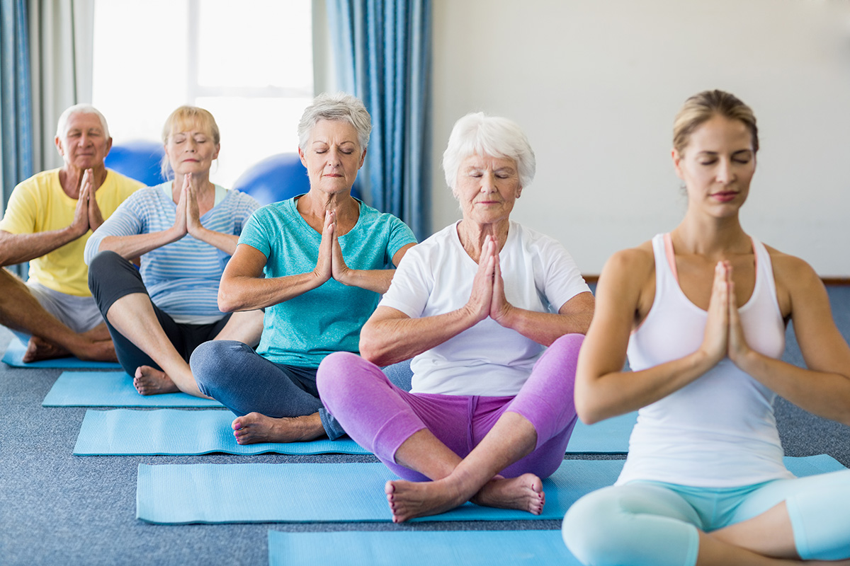 You May Be Getting Older But You Can Still Do Yoga