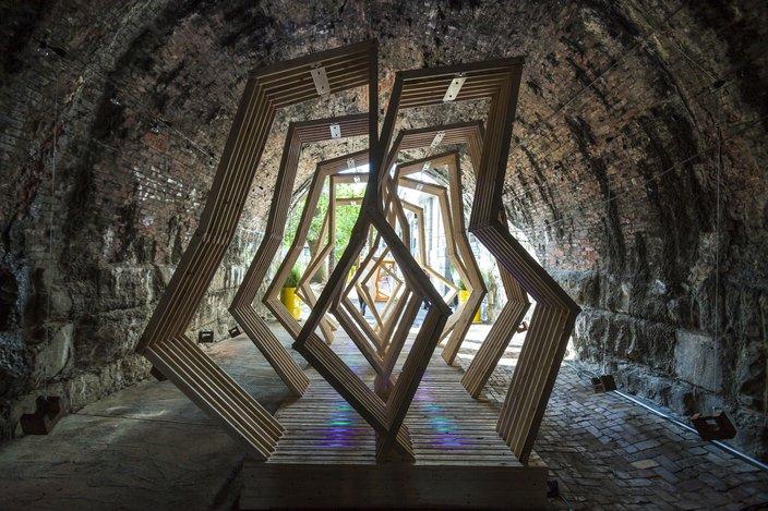 Picture Frames Built Lights
