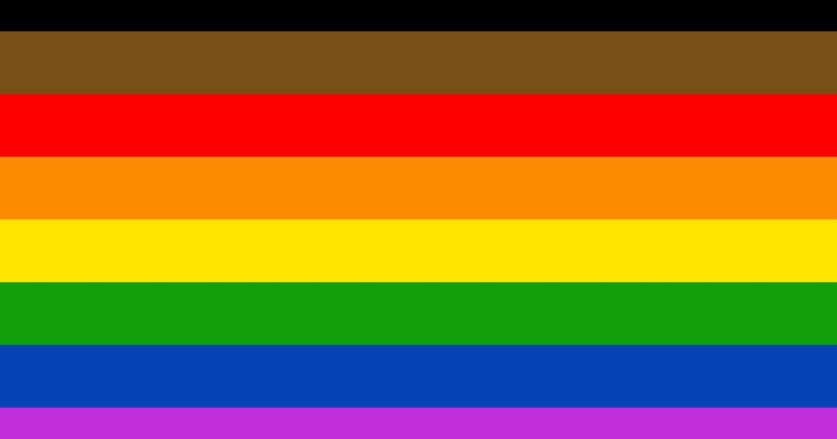 Philly Adds Black And Brown Stripes To LGBTQ Flag