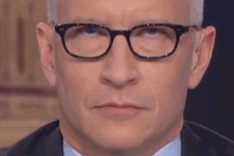 Image result for anderson cooper eye roll
