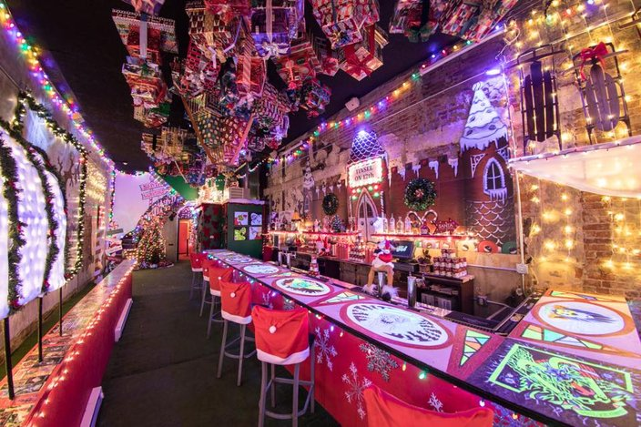 Tinsel Philadelphias Christmas Pop Up Bar Is Back With