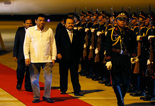 Image result for rodrigo duterte in Laos