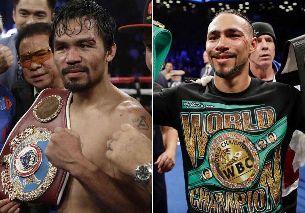 Image result for KEITH THURMAN VS MANNY PACQUIAO