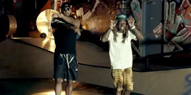 """Swizz Beat Lil Wayne in """"Pistol on my Side"""""""