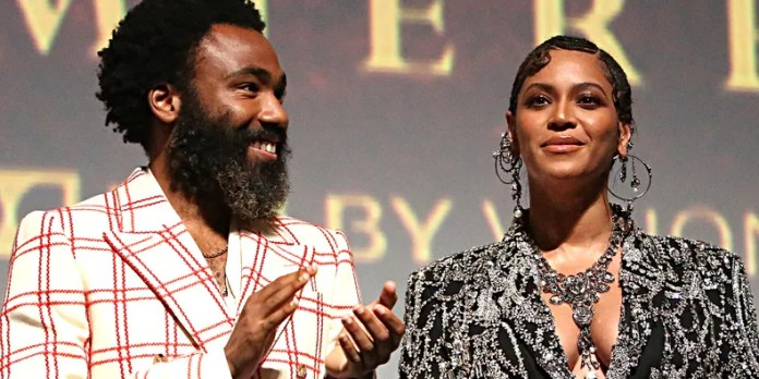 Image result for donald glover and beyonce lion king