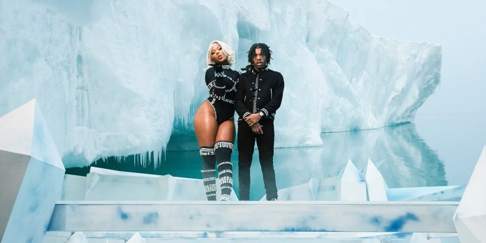 Megan Thee Stallion and Lil Baby