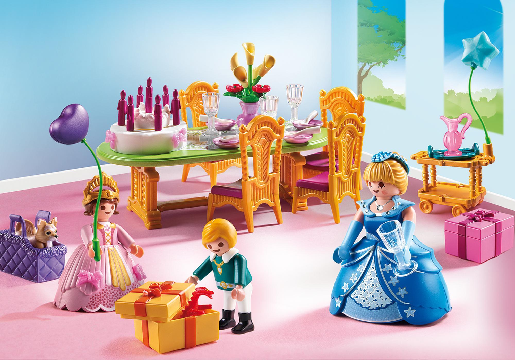 Salle Manger Pour Anniversaire Princier 6854
