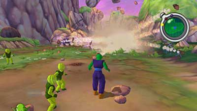 Dragon Ball Z  Sagas Game   PS2   PlayStation Dragon Ball Z  Sagas Screenshot 2