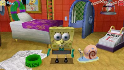 SpongeBob Squarepants  The Yellow Avenger Game   PSP   PlayStation SpongeBob Squarepants  The Yellow Avenger Screenshot 1