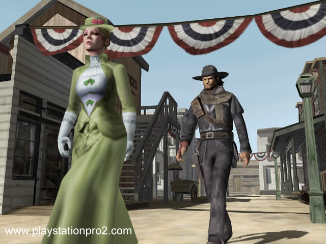 PlayStation Pro 20 Red Dead Revolver Screenshots And