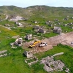 Azerbaijanis destroy 18th century mosque in Karabakh