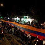 Powerful torchlight procession lights up Karabakh streets