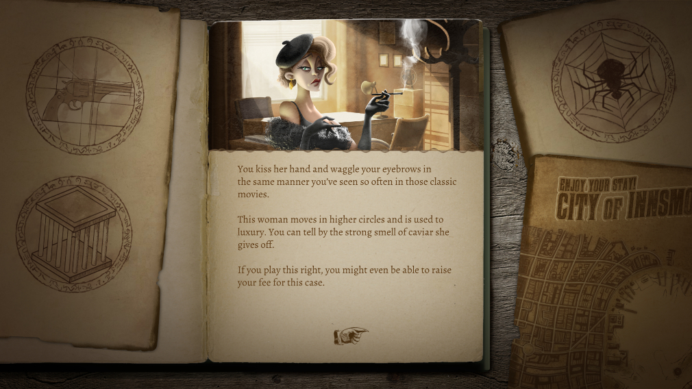 The Innsmouth Case is a Lovecraftian comedy-horror game creeping ...