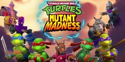 TMNT: MUTANT MADNESS, UN RPG BASADO EN LA SERIE LLEGA A DISPOSITIVOS MÓVILES