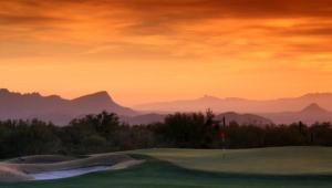 Golf Hole at Sunset Scottsdale
