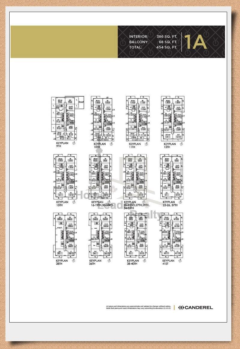 Yc Condo Floor Plans