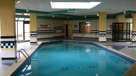 Indoor pool at 323 Colborne