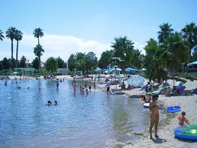 Desert Shores Community Beach